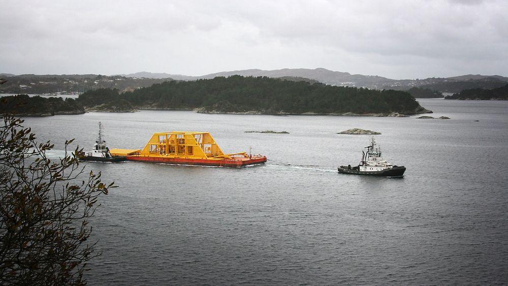 Denne subsea våtgasskompressoren skal gi 22 millioner ekstra fat olje fra Gullfaks.