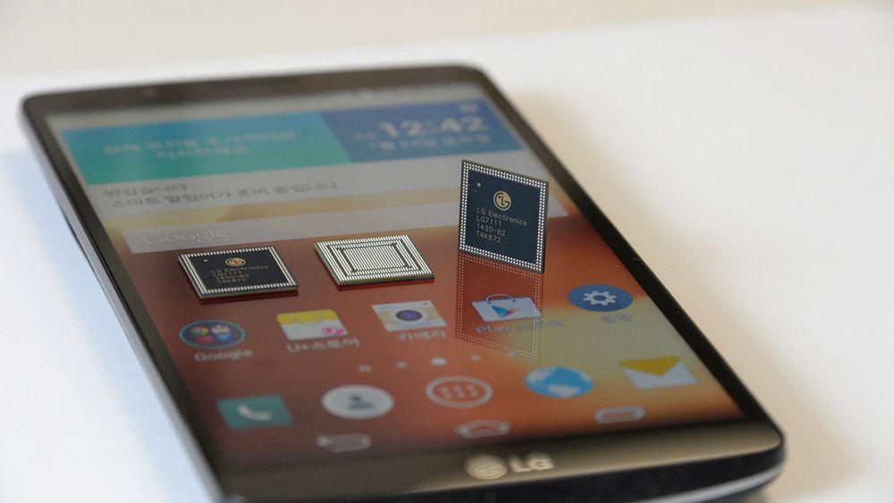 LGs nye Nuclun er en egenutviklet åttekjernet systembrikke med ARM Cortex-prosessorer.