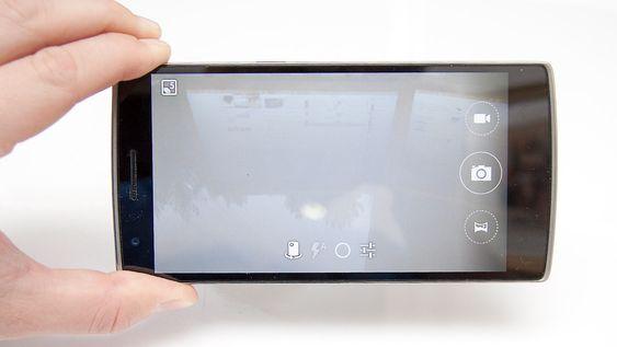 Kameraet har et enkelt brukergrensesnitt.