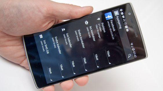 CyanogenMod gir deg mulighet til å detaljstyre hvilke tillatelser apper har tilgang til.