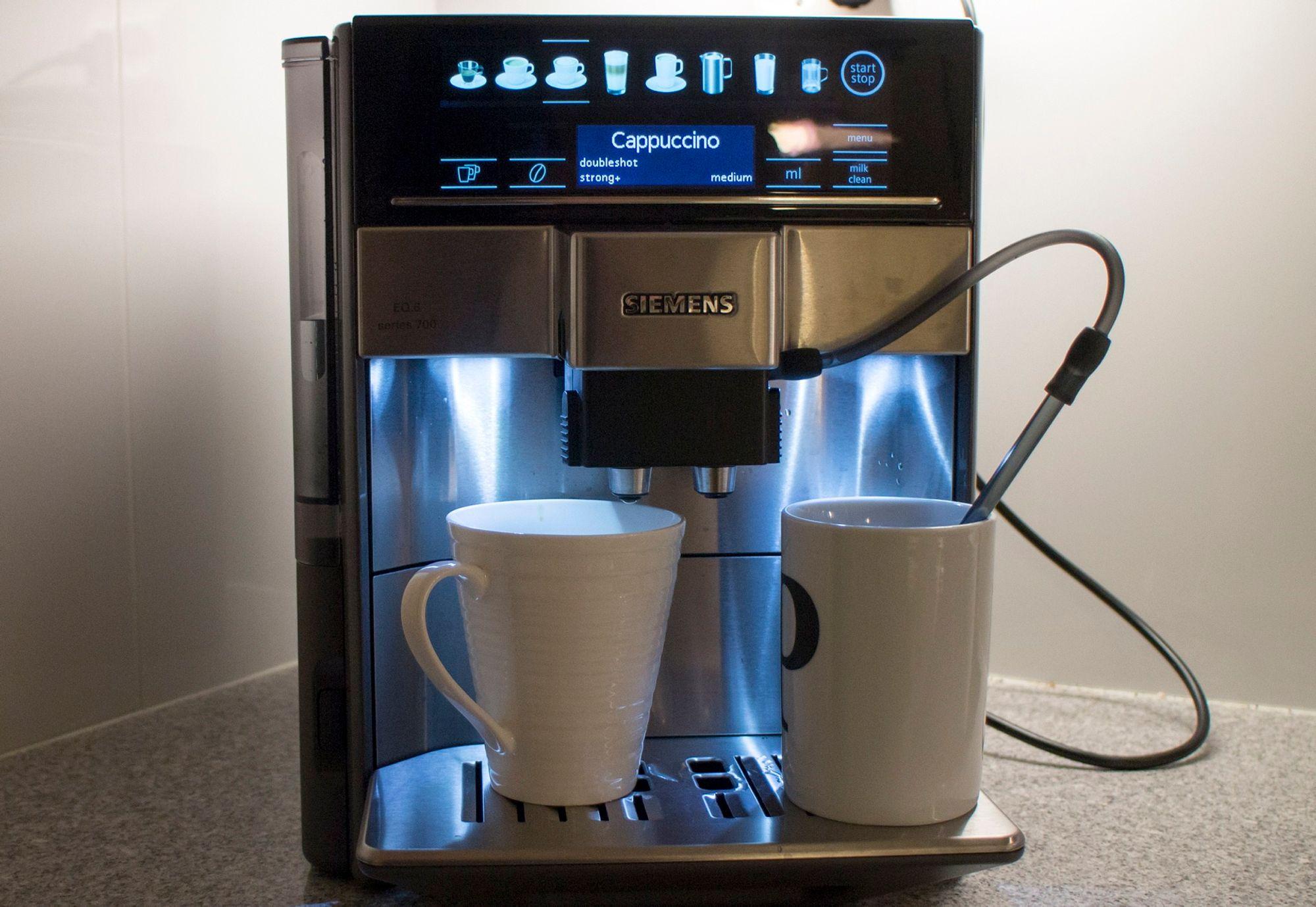 Kaffemaskin kvern