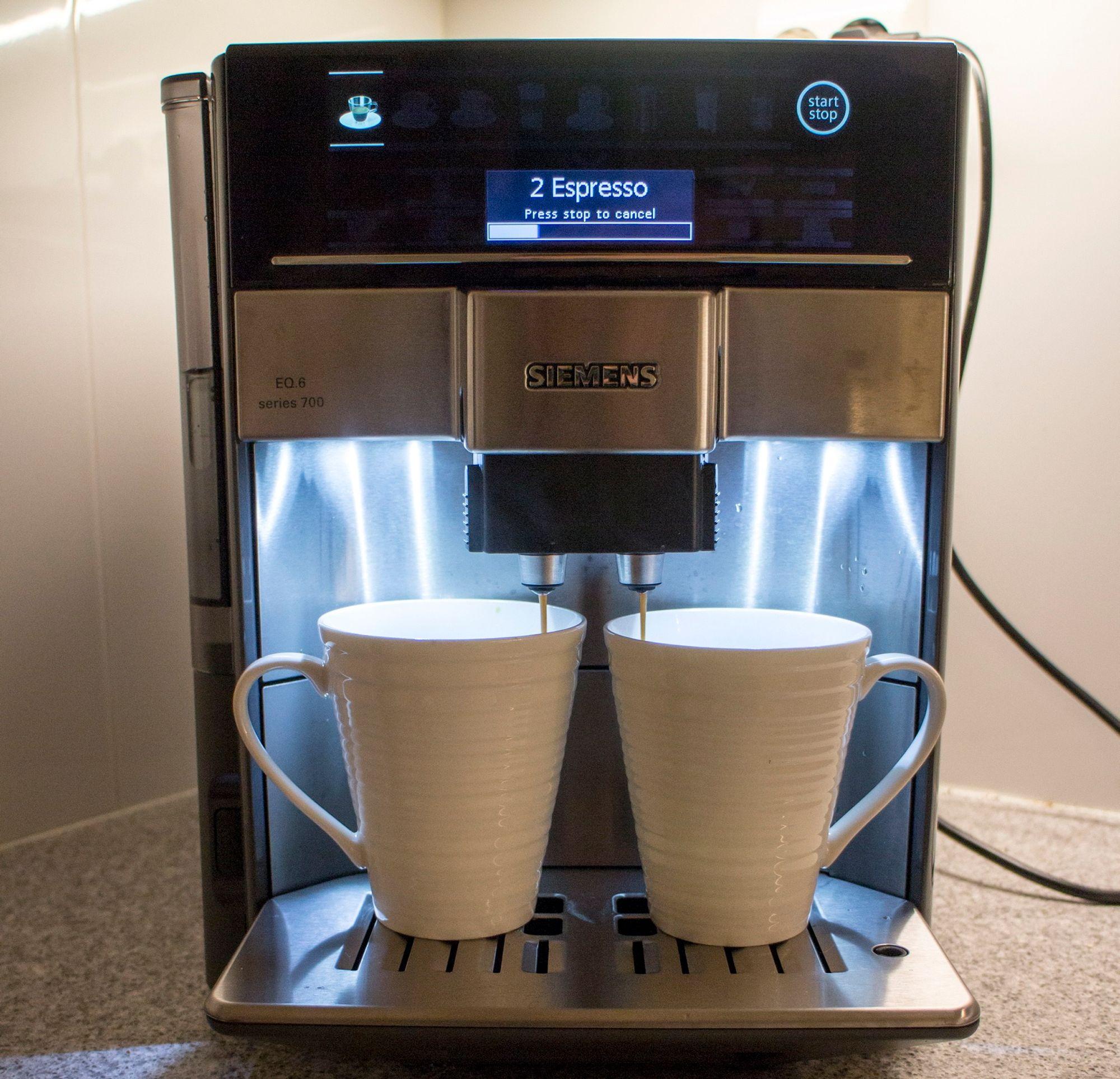 Kaffemaskin bønner test