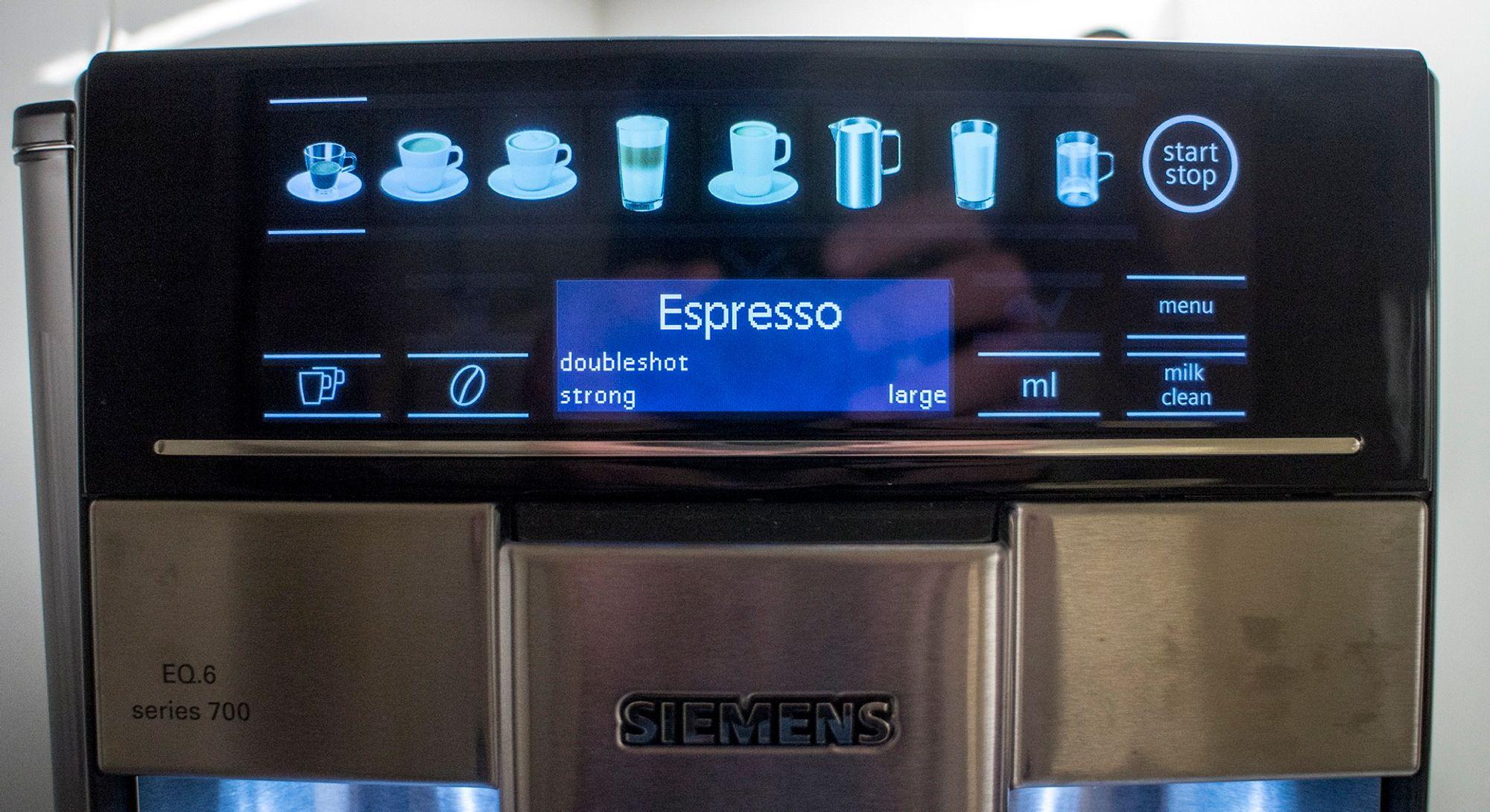Rensing av kaffemaskin