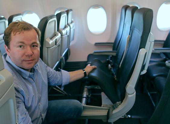 Noen kilo spart per flysete har et potensial til å gi flåtesjef Tore Jenssen og resten av Norwegian store drivstoffinnsparinger.