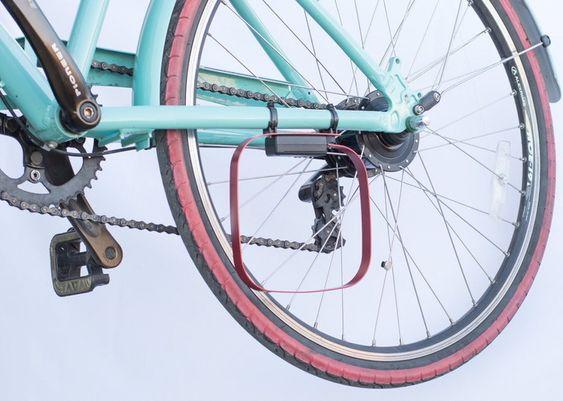 Denne rammen kan aktivere induksjonssløyfen som gjør at syklistene kan få grønt lys.