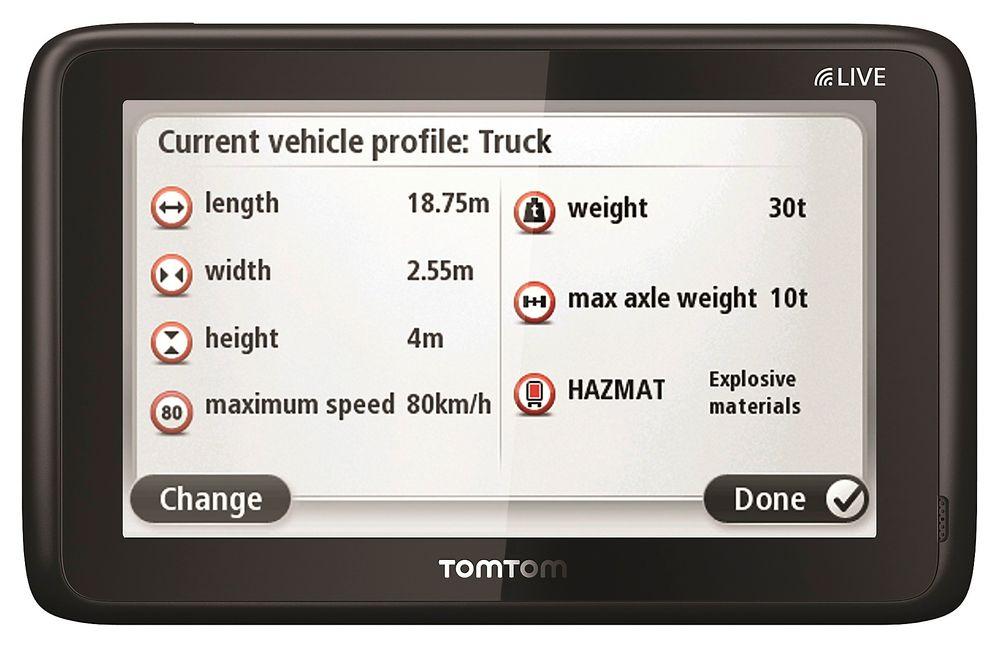 Trailervenn: TomTom har laget en egen GPS med egne kart for trailere.
