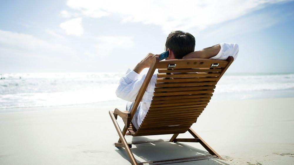 Å være utenfor mobildekning kan være en god ide hvis du vil ikke at arbeidsgiveren din skal forstyrre deg i ferien.