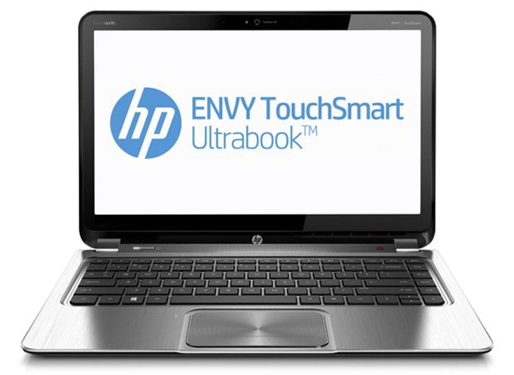 Med superskjerm: Envy 14 TouchSmart Ultrabook kan fås med en skjermoppløsnign på hele 3200 ganger 1800 piksler.