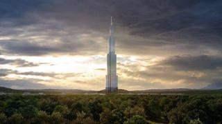 Det skulle bli verdens høyeste bygg. Nå brukes fundamentet som fiskefarm