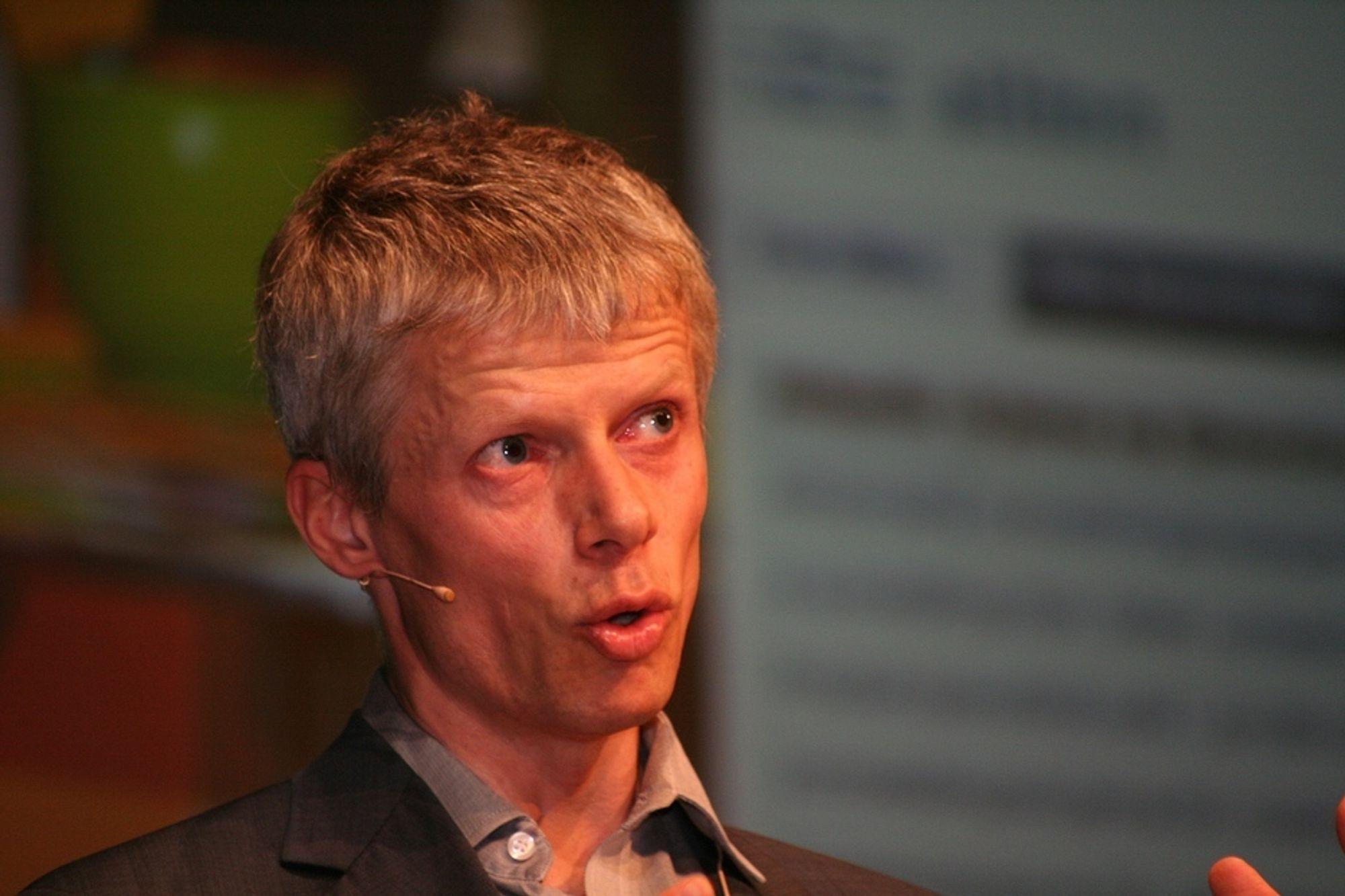 HØST: Difi-direktør Hans Christian Holte tar sikte på at en felles påloggingsløsning kommer i gang for alvor utpå høsten.