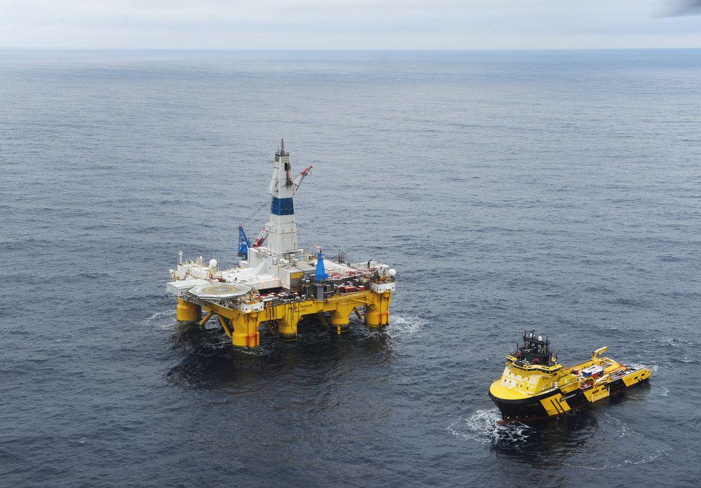 Stort: Barentshavet er verdens åttende mest spennende kommende oljeregion, følge Wood Mackenzie. Her fra Skugard-boringen.