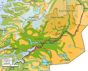 Rana Gruber ligger i Dunderlandsdalen 30 km øst for Mo i Rana.