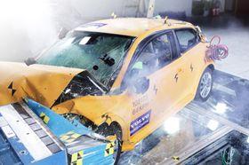 Volvo kan ikke få understreket nok ganger at de også på elbiler setter sikkerheten øverst.