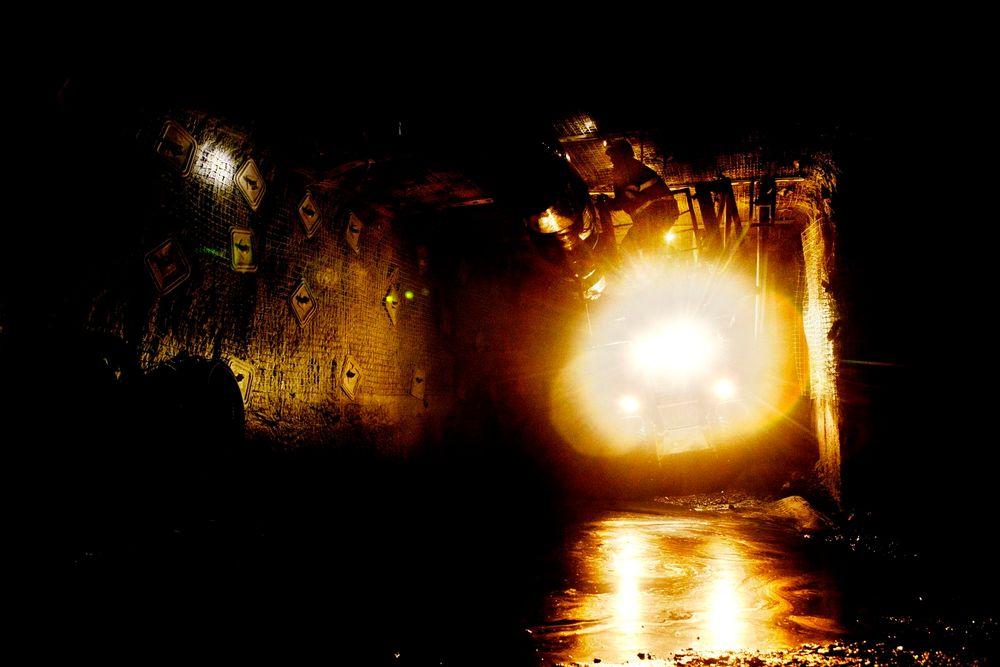 Store norske slutter å lete etter gull. Dette bildet er fra Svea Gruve Nord, hvor det handler om kull.