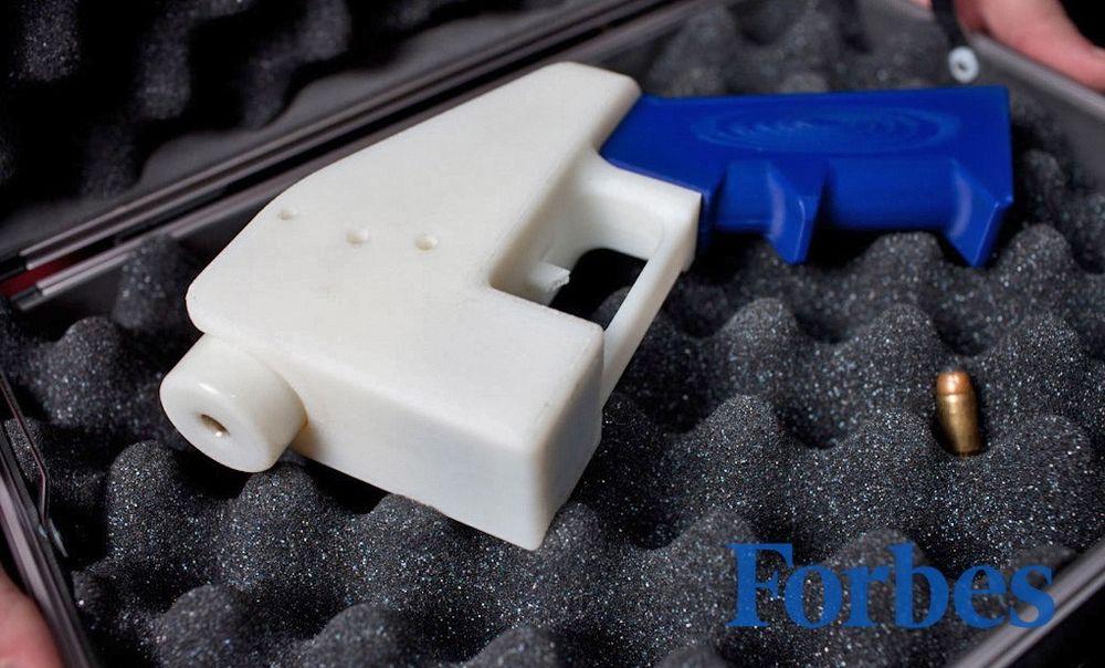 Plastpistol: Cody Williams har produsert verdens første 3D-printede plastpistol og vil offentliggjøre tegningen slik at alle kan skrive ut sin egen.