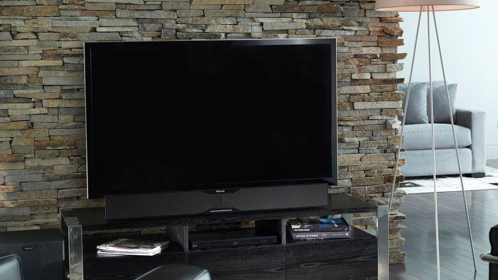En lydplanke kan gjøre lyden fra den ellers gode flat-tv-en mange ganger bedre.