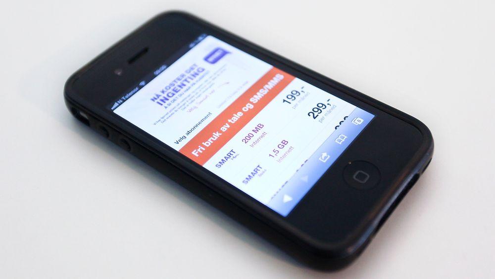 SMS, MMS og talesamtaler er nå inkludert fritt i alle Netcoms abonnementer.