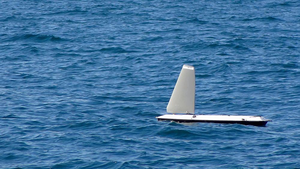 Denne norskutviklede bøyen seiler nå rundt på egenhånd i Mexicogulfen.