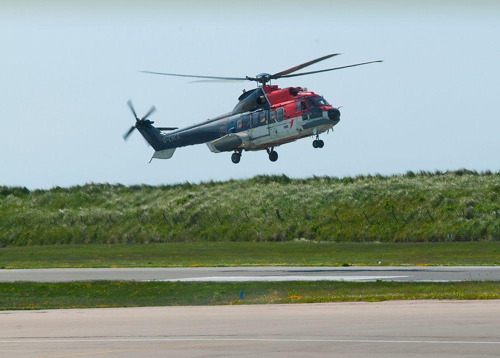 Helikopteret som havarerte var av denne typen: AS332L2 Super Puma.