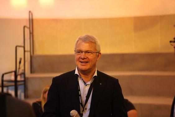 Øystein Michelsen, Statoils direktør for norsk sokkel.