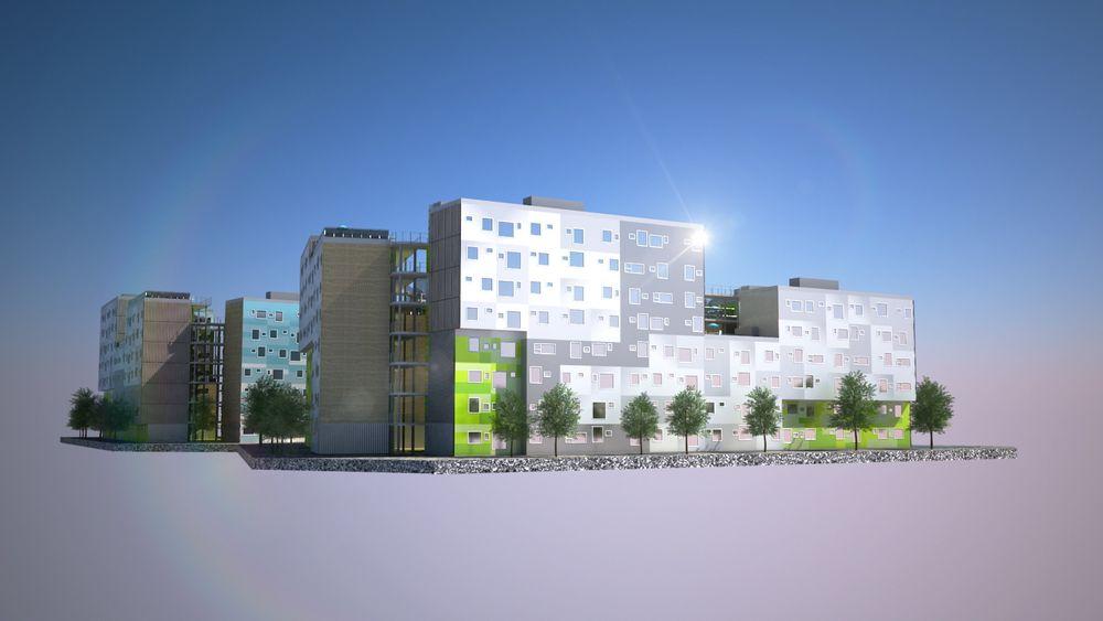 Studentbyen Grønneviksøren skulle bli ferdig i 2010/2011, men er innflytningsklar først 15 august 2013.