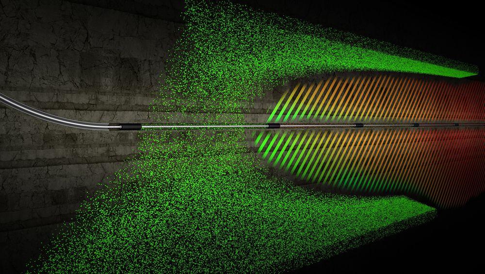 Lange brønner: Det britiske selskapet mener deres smarte ventiler vil gjøre det lettere å produsere fra hele brønnlengden.   illustrasjon: Omega Completion Technology