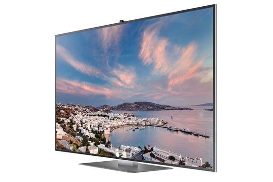 Ny Toppserie: F9000 er Samsungs nye toppserie TV-er, selvfølgelig med UHD oppløsning. De har fylt på med allt som er av godsaker og håper at det skal bringe betalingsviljen frem i lyset.