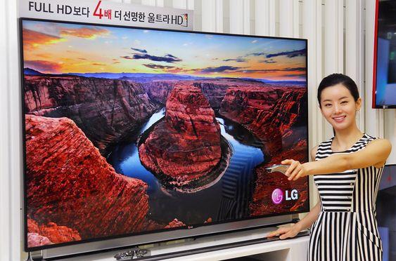 Kommer: LG har ikke sagt når den nye LA9700 serien med UHD-TV-er kommer på markedet, men de har neppe tenkt å bli hengende langt etter.