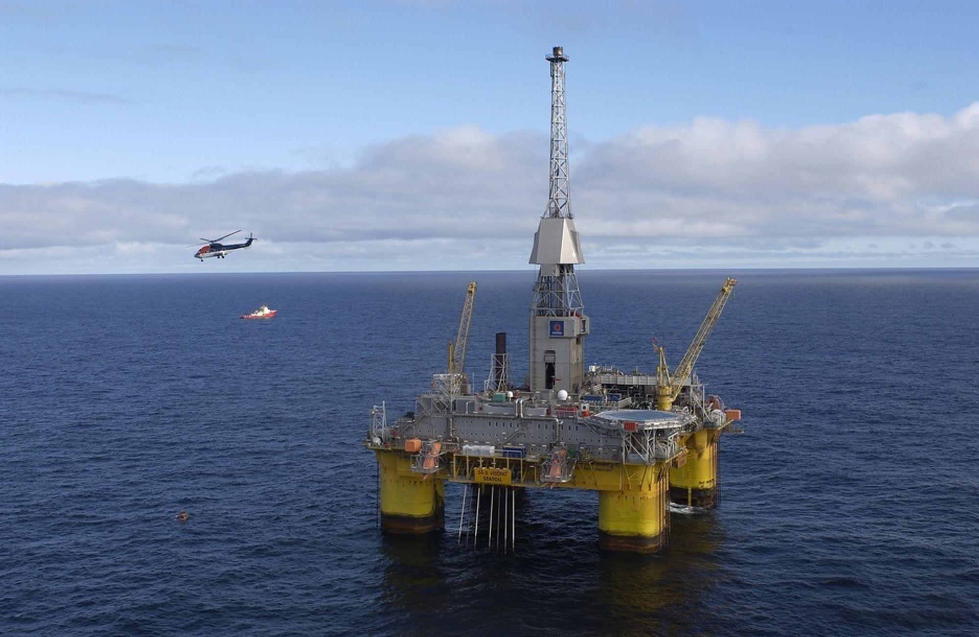 Oljeplattformer i norge navn