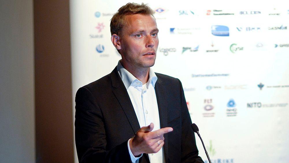 Tidligere olje- og energiminister Ola Borten Moe fikk i går NPF-prisen for 2013.