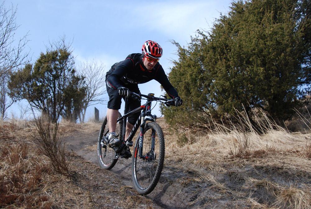 Åtte syklister fra sykkelklubben Cycling Nord i Aalborg deltok i undersøkelsen.