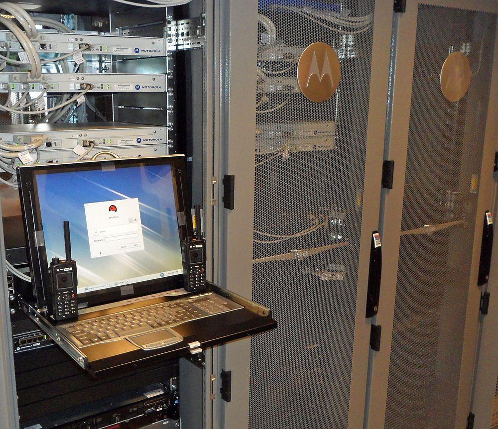Grundig testet: Den nye maskin- og programvaren i nødnettet har vært grudig testet før den ble satt i drift i natt.