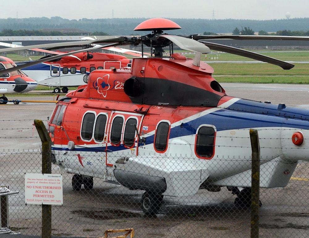 Alle Super Puma-helikoptre, inkludert EC225 som nettopp har fått opphevet sitt flyforbud i Nordsjøen, står midlertidig på bakken i Storbritannia fram til det kommer fram mer om hva ulykken utenfor Shetland skyldtes.
