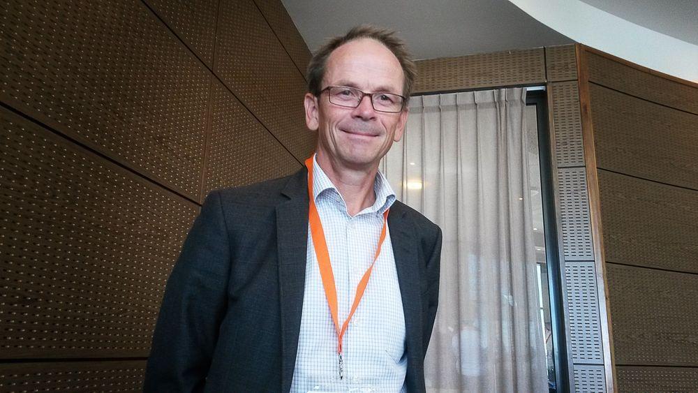 Styreleder Lars Petter Maltby i Eyde-nettverket.