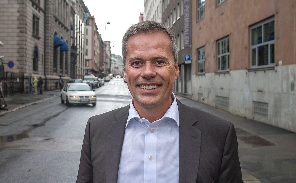 Optimist: Sjefen for Cap Gemini i Norge, Ola Furu, har stor tro på det norske oppdragsmarkedet i årene fremover, men venter mer konkurranse fra indiske aktører.