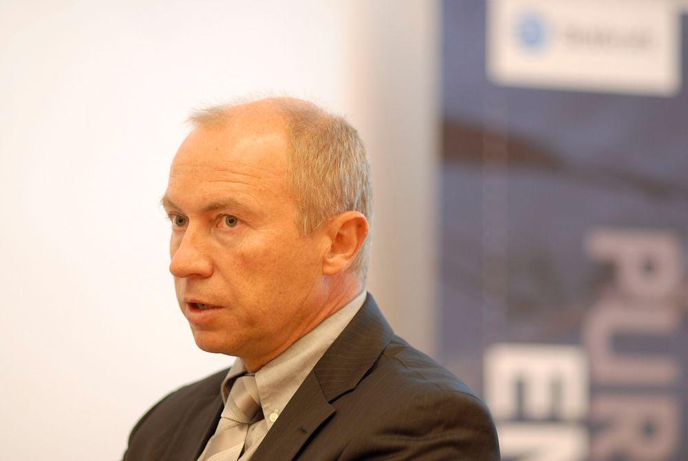 Konsernsjef Christian Rynning-Tønnesen i Statkraft har ingen planer om å bygge nye gasskraftverk i Tyskland. (Foto: Øyvind Lie)