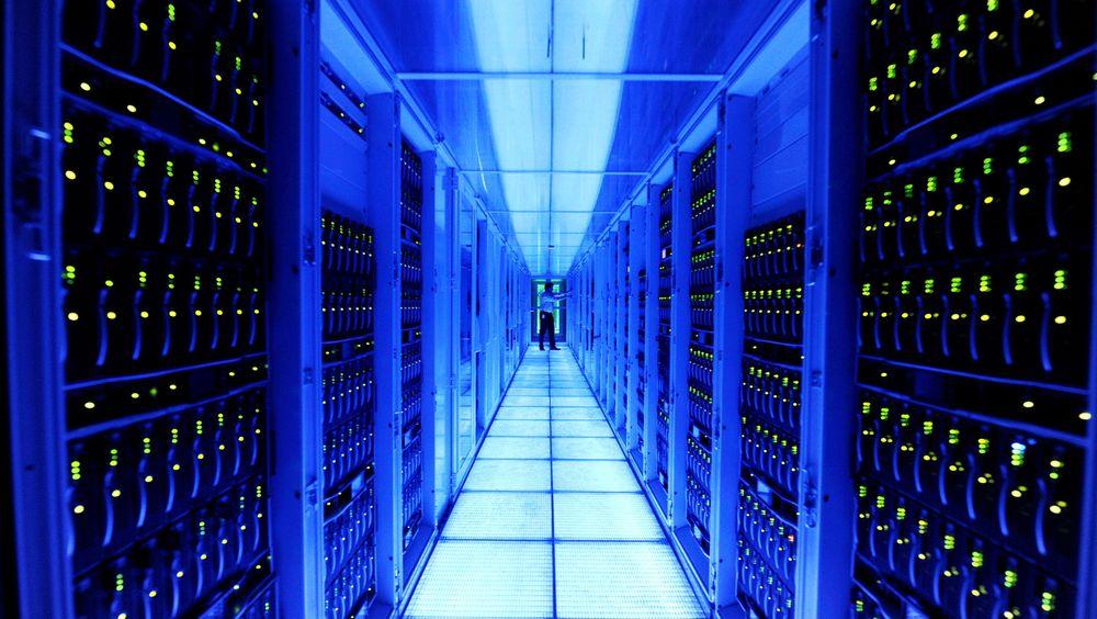SAP satser på lagring av data i RAM, noe som skal øke hastigheten drastisk. Her fra selskapets regnesentral i St.Leon-Rot i Tyskland.