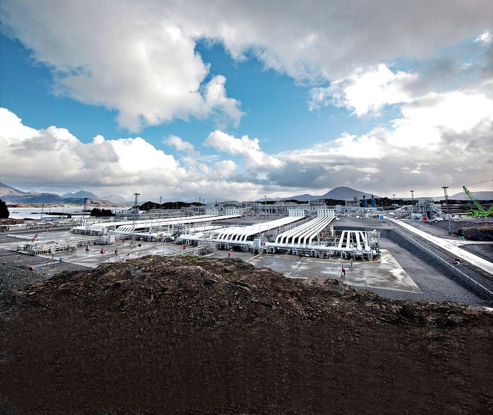 Gasskraft: Norge eksporterer enorme mengder gass til bruk i blant annet gasskraftverk i utlandet. Men å bruke gasskraft selv som backup for gasseksporten er uspiselig i SV.