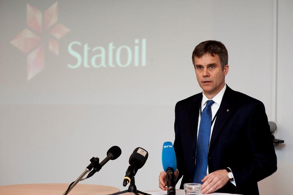 Konsernsjef Helge Lund i Statoil slår fast at sikkerheten ved In Aménas-anlegget ikke var god nok.