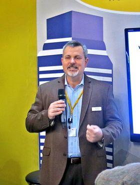 Elsker smått: Gordon Mansfield fra AT&T er forman i Small Cell Forum