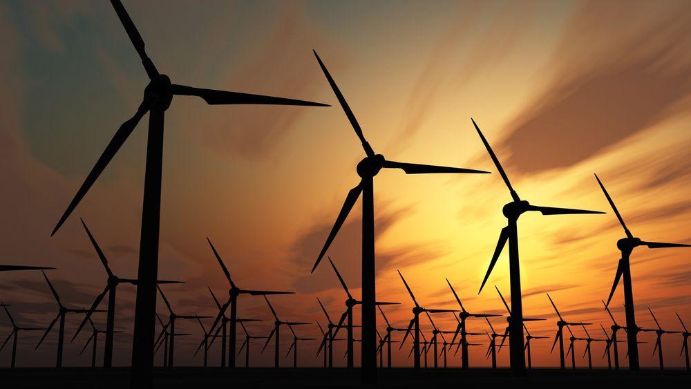 Anslagene for vindinvesteringer faller og Energi Norge frykter at svenskene skal få vindkraften. Foto: Colurbox