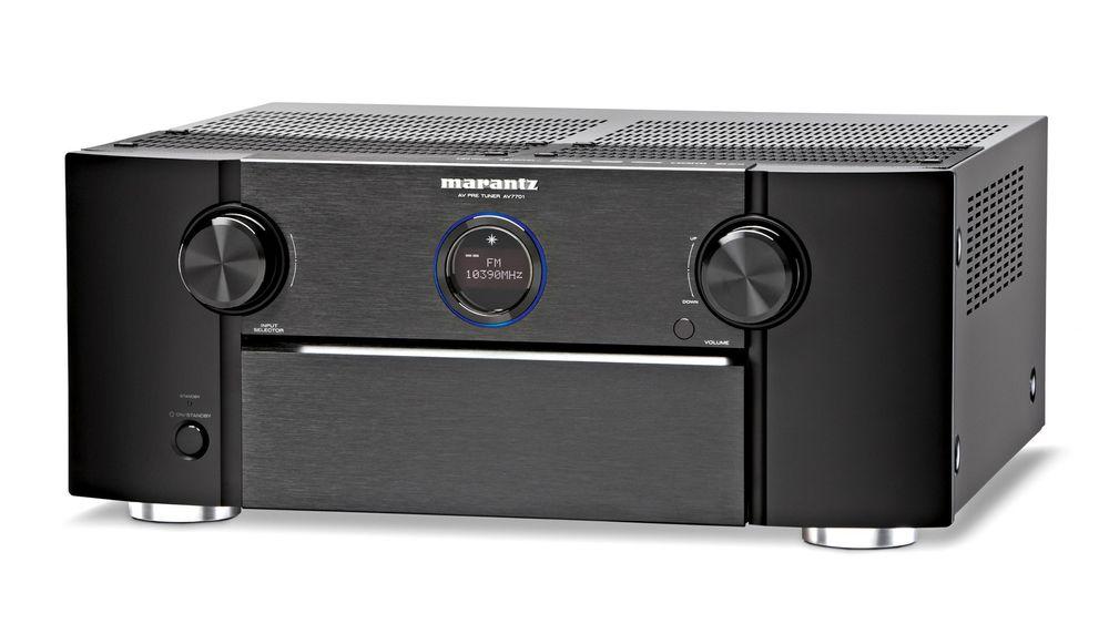 En dedikert hjemmekinoprosessor som Marantz AV7701 gir bedre dynamikk i lyden.