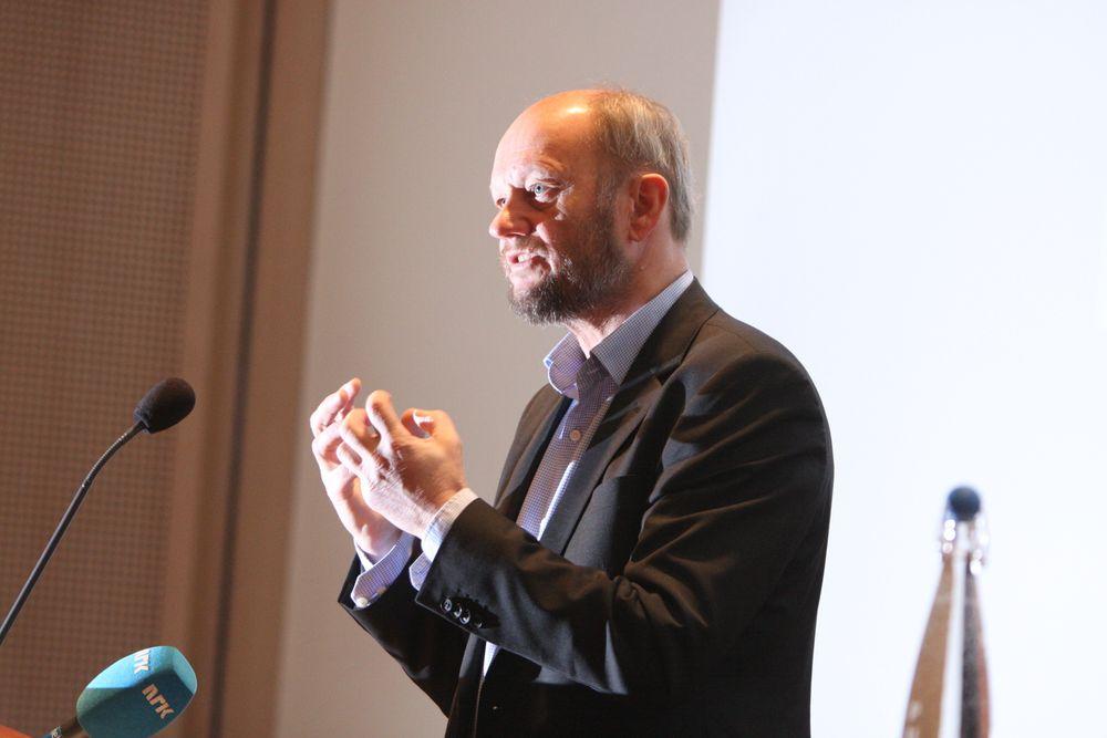 BEKYMRET: Stein Lier-Hansen og Norsk Industri møter Statoil på torsdag for å diskutere hva man kan gjøre for at norsk leverandørindustri kan bli konkurransedyktig i forhold til utenlandske leverandører. Foto: Peder Qvale