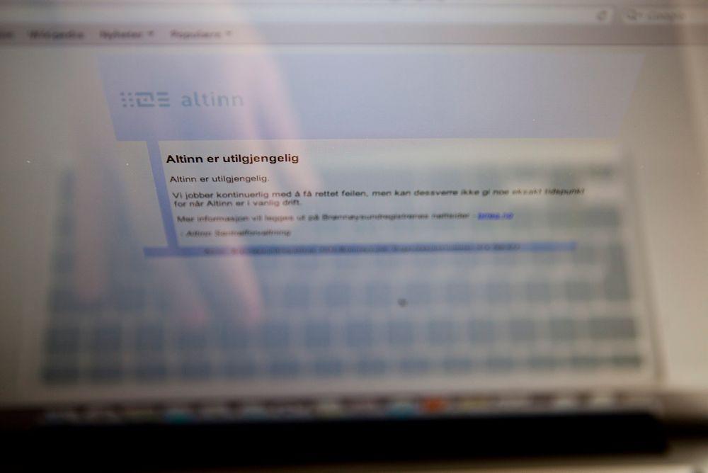 MANGELFULL: Den intern rapporten avdekker at mangelfull dokumentasjon på feilrettingen førte til at Altinn ble holdt stengt nesten et døgn lenbger enn teknisk nødvendig.