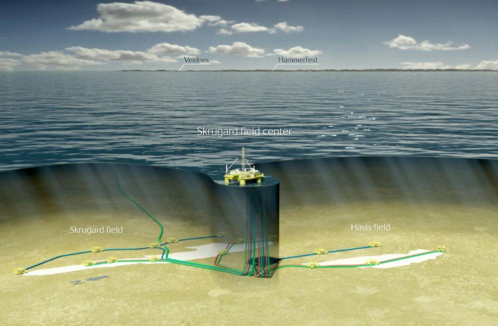 Lagt på is: Statoil utsatte Johan Castberg-prosjektet etter at regjeringen endret skattereglene. (Illustrasjon: Statoil)