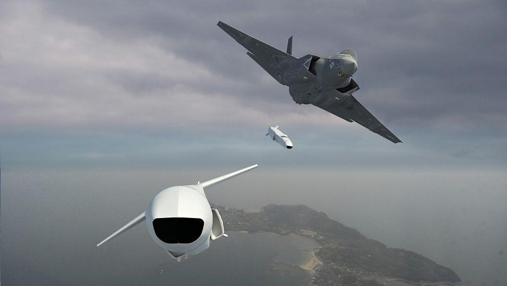 Joint Strike Missile er skreddersydd for kampflyet F35.