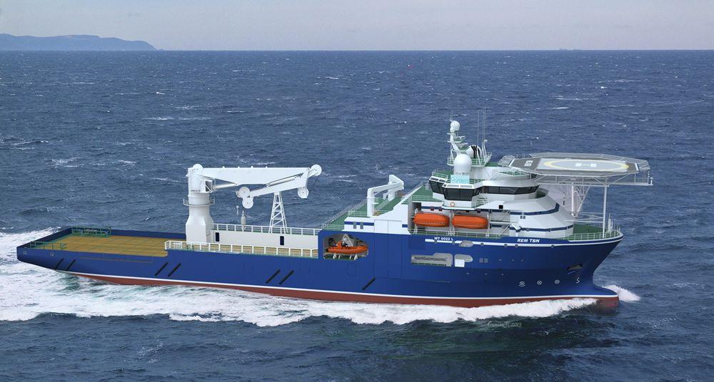 Rem Offshore har ett konstruksjonsskip med MT6022-design fra Kleven. Skipet er 117 meter langt og 22 meter bredt. Kranen kan ta 250 tonn og kan løfte ned til 3000 meters dyp.