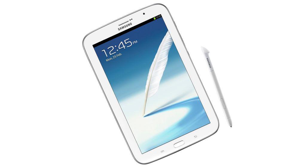 Samsung Galaxy Note 8.0 tar opp kampen med iPad mini.