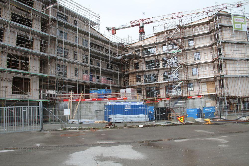 Både Veidekke og Skanska melder om fortsatt boligbygging uten brems.