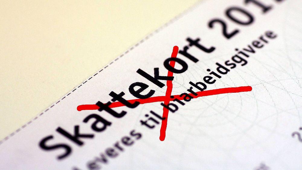 Fra neste år blir det ikke mulig å få skattekortet på papir.
